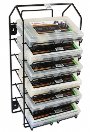 Connect 37193 Assorted Universal Trim Clip Rack